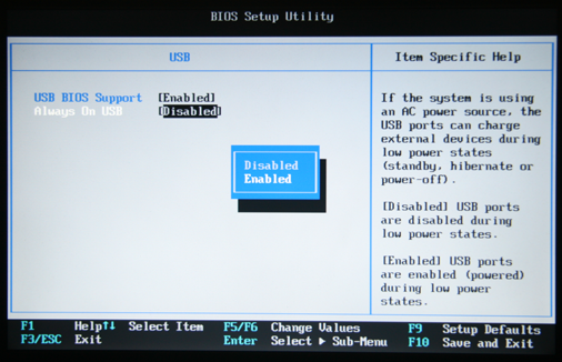 Hidden BIOS Setting for USB power supply on a Thinkpad | Kau