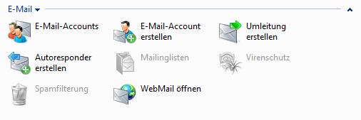 Plesk Domain - E-Mail
