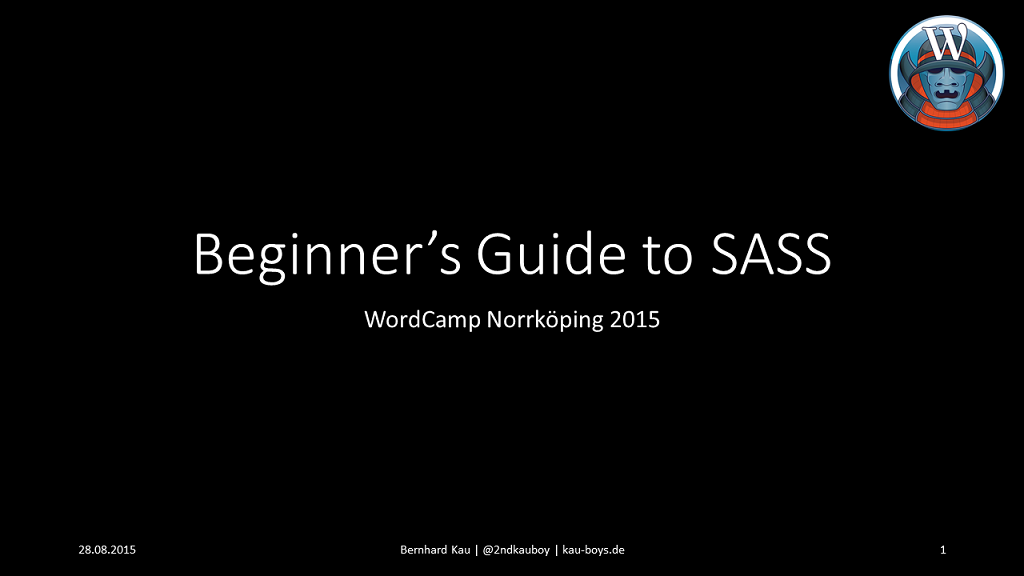 Beginner´s Guide to SASS