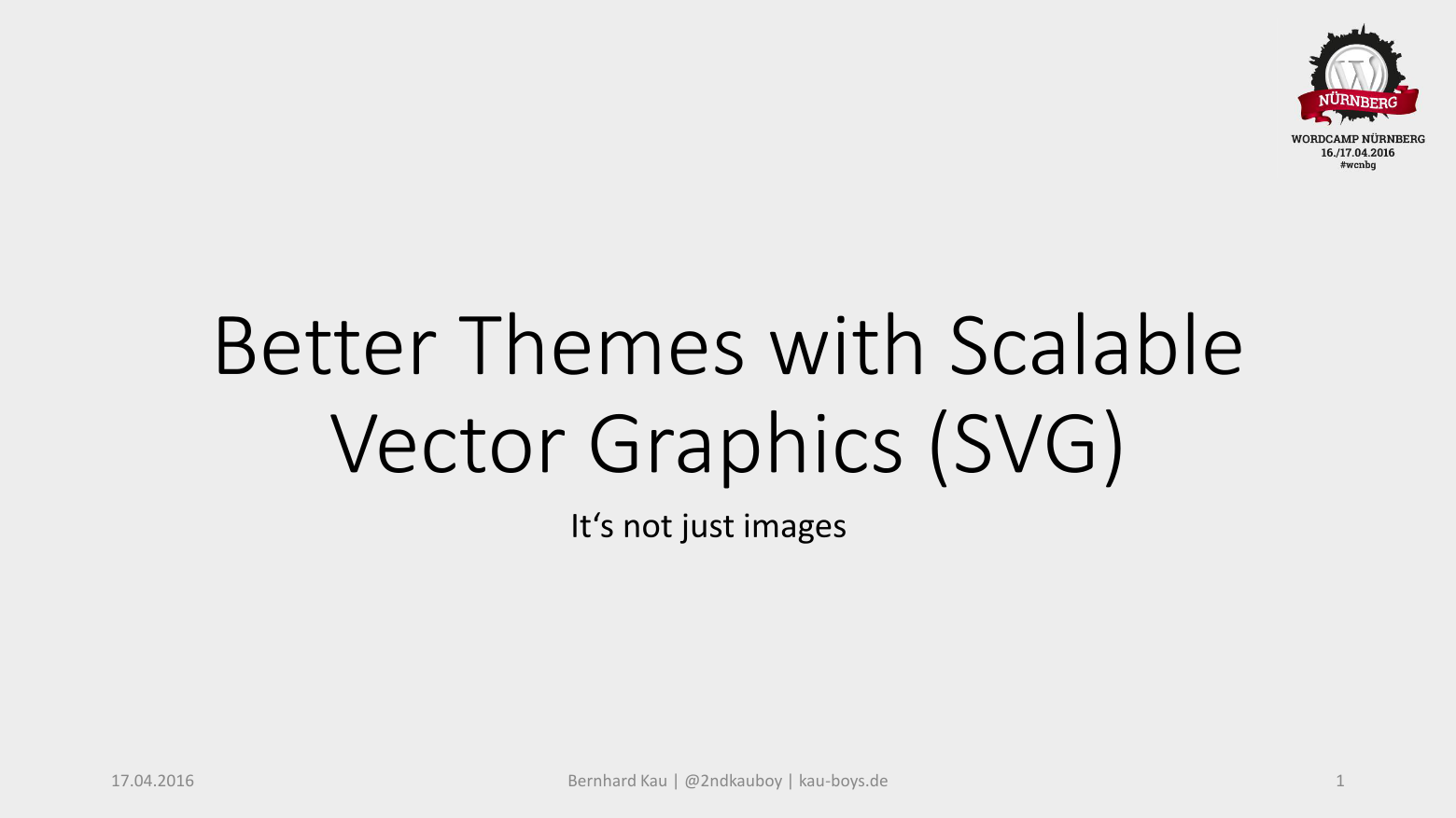 Better Themes with SVG